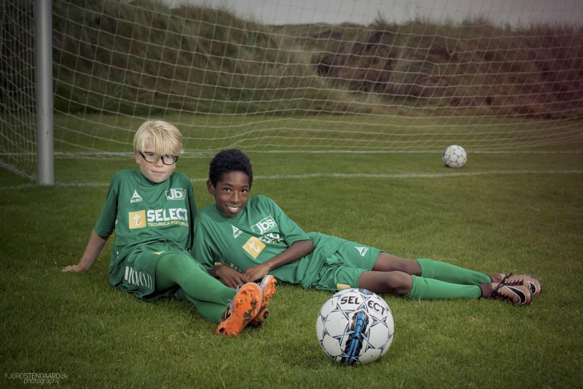 From goalkeeper to striker